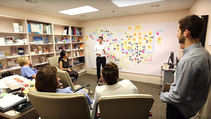 Healthcare Consulting and Design Thinking at the Broward Infusion Center, US