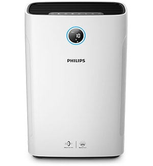 Air purifier and humidifier large room