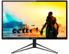 Slim monitor with Ultra Wide-Color