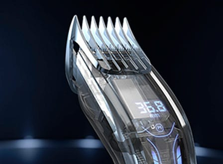 Hair clipper 9000: Auto turbo feature